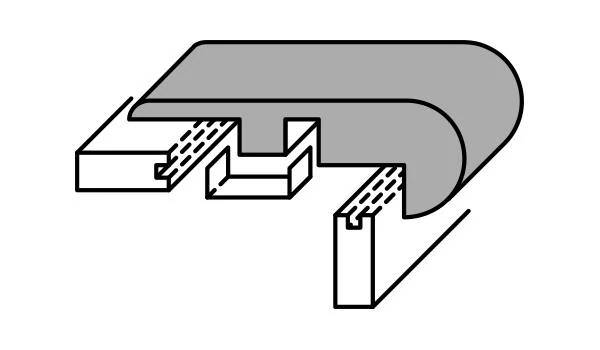 Overlap Stairnose