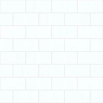 buckingham backsplash 3x6 001bc - white